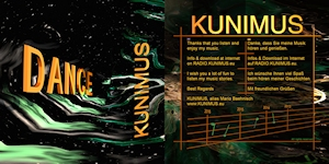 Booklet Cover - KUNIMUS - DANCE