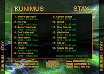 Tray Cover - KUNIMUS - STAY