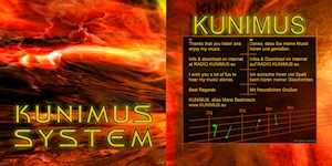 Booklet Cover - KUNIMUS - SYSTEM