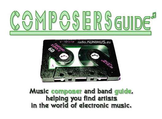 COMPOSERS GUIDE - Music composer and band guide, Helping you find artists in the world of electronic music.